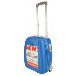 Walizka podróżna PUCCINI ABS 01D blue