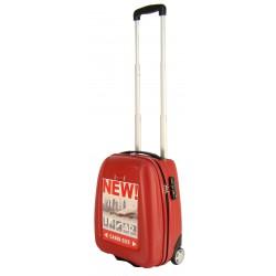 Walizka podróżna PUCCINI ABS 01D red
